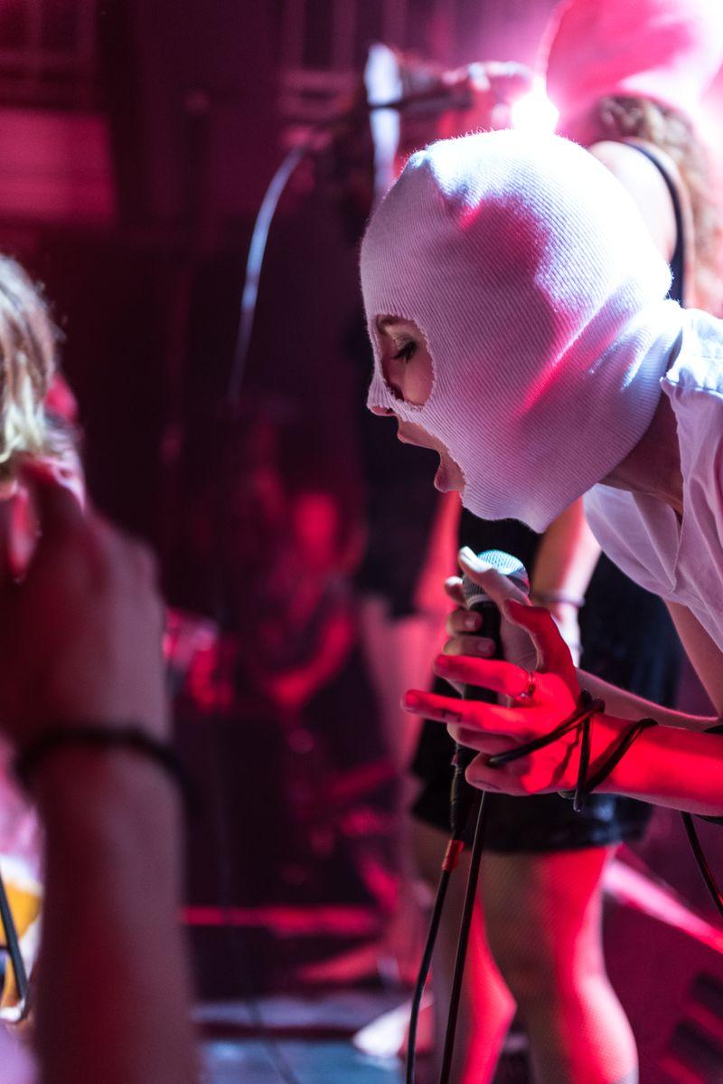 Pussy Riot live at Summerhall Edinburgh, August 2018