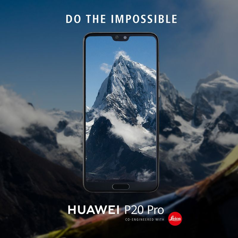 Huawei Mobile UK Social Posts