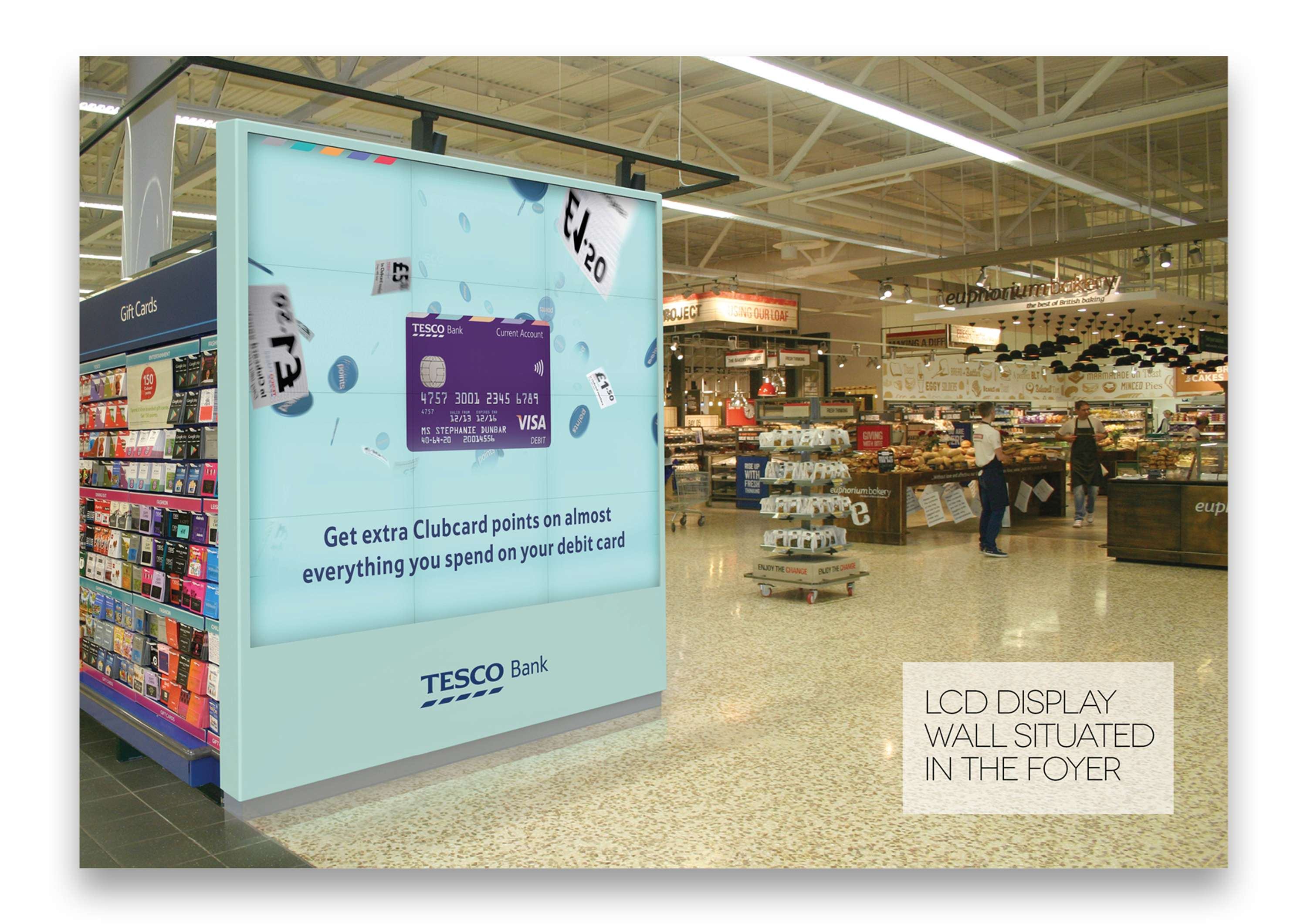 Tesco Bank 'branch of the future' customer experience