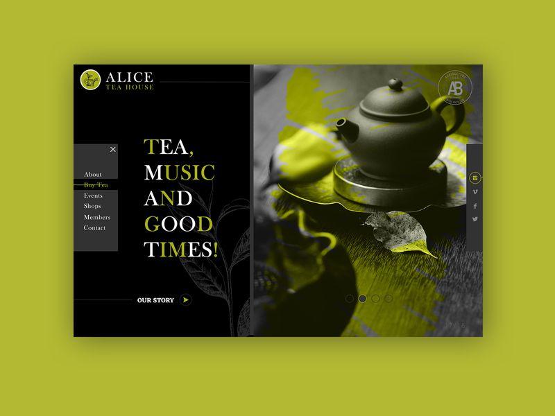 Tea House► Web Design