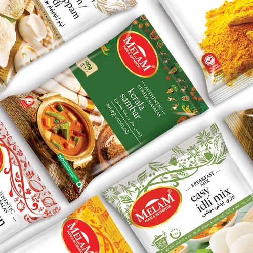 Melam-a refreshed & flexible packaging system design | The Dots