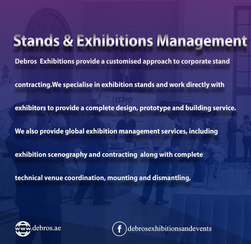 DeBROS Exhibitions Event Planner