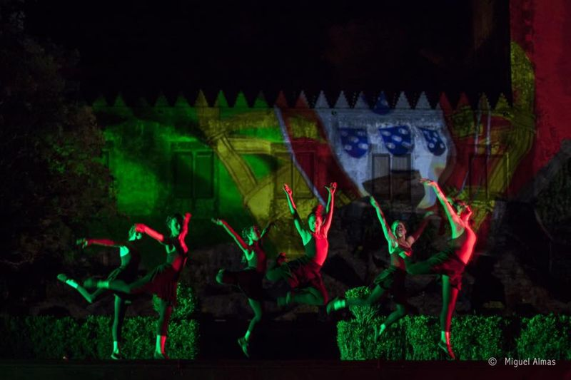 VideoMapping and Performing arts - Quinta da Ribafria Sintra (Portugal)