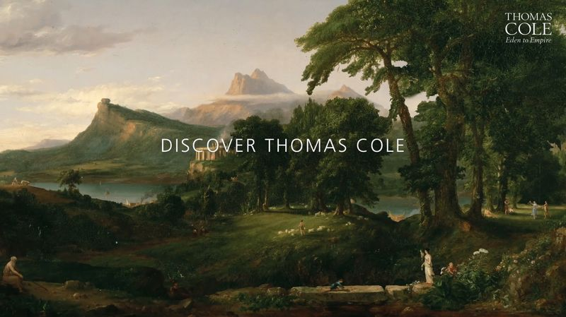 Animation for Thomas Cole exhibition at National Gallery