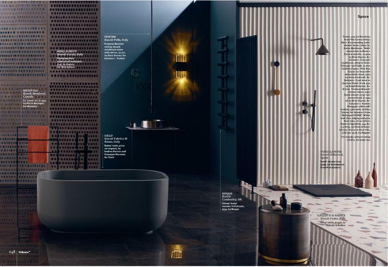 Wallpaper* July 2018 - Bathrooms