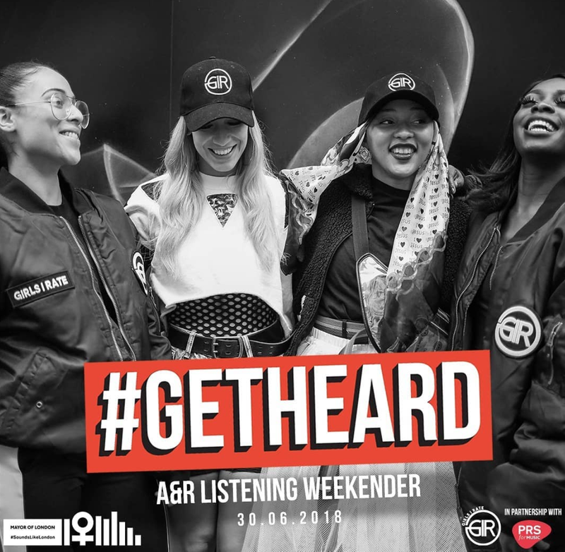 GirlsIRate #GetHeard 2018