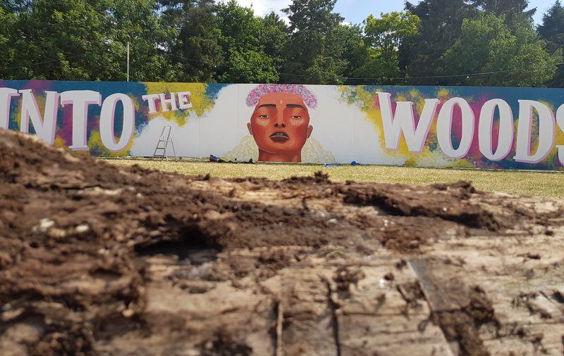 Farr Festival mural 2018