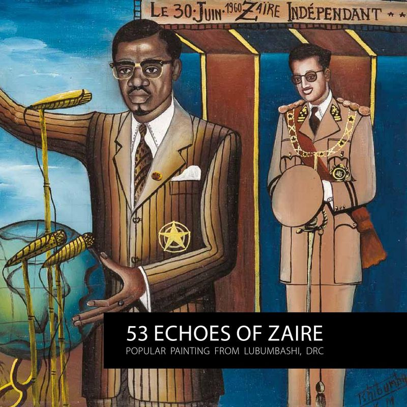 53 Echoes of Zaire exhibition