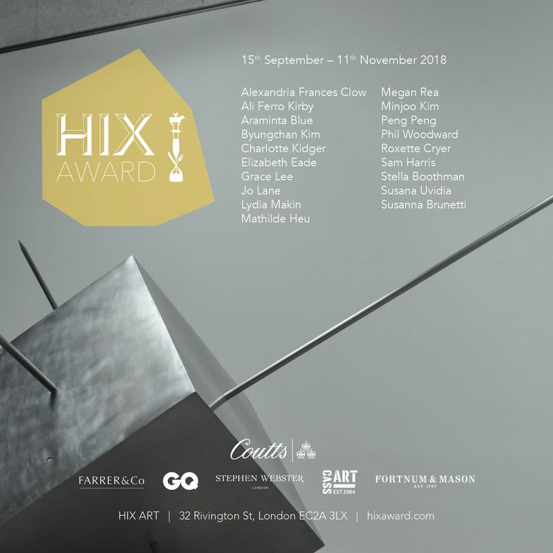 Hix Award 2018: The Reconstruction of Sculpture