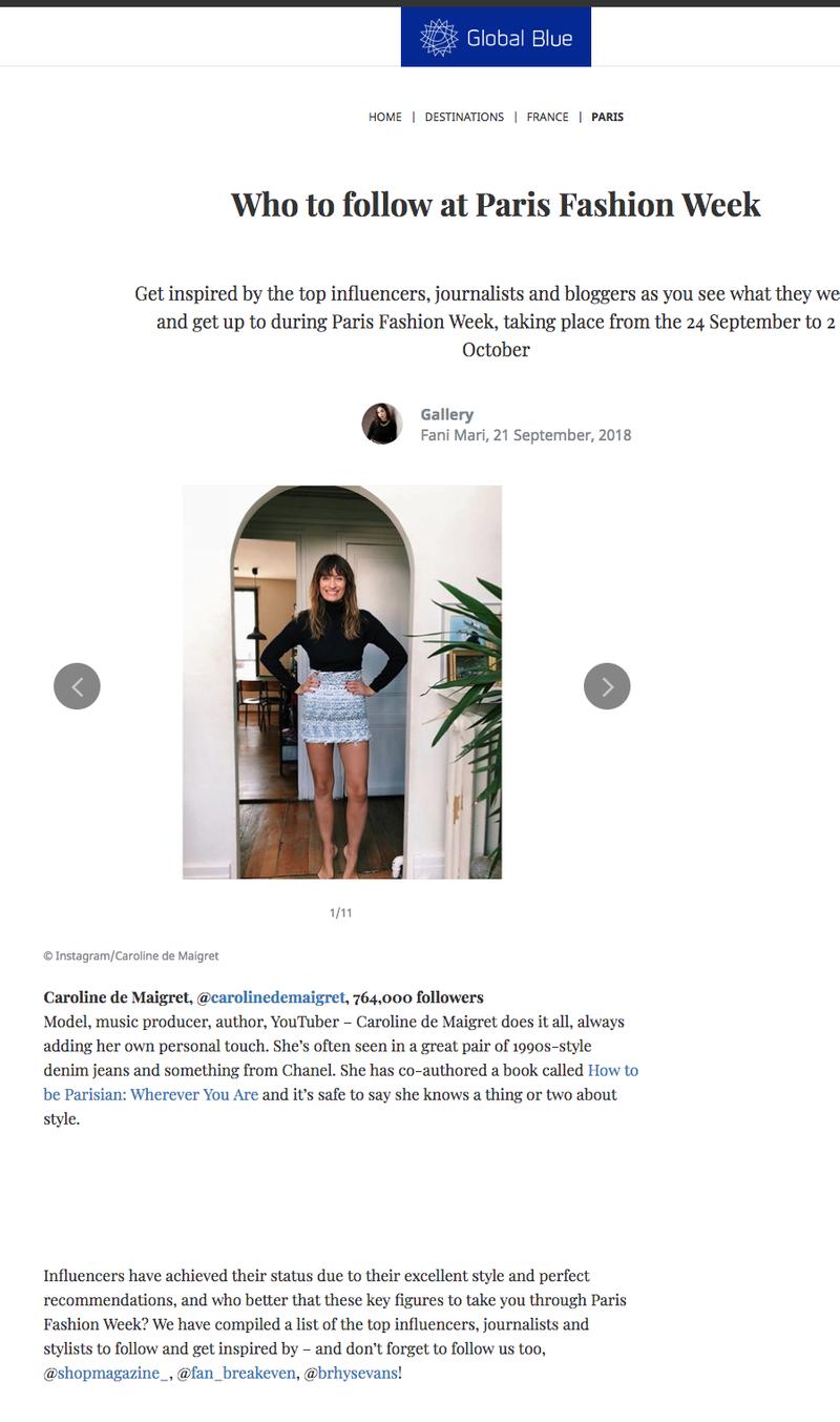 Who to follow at Paris Fashion Week SS19