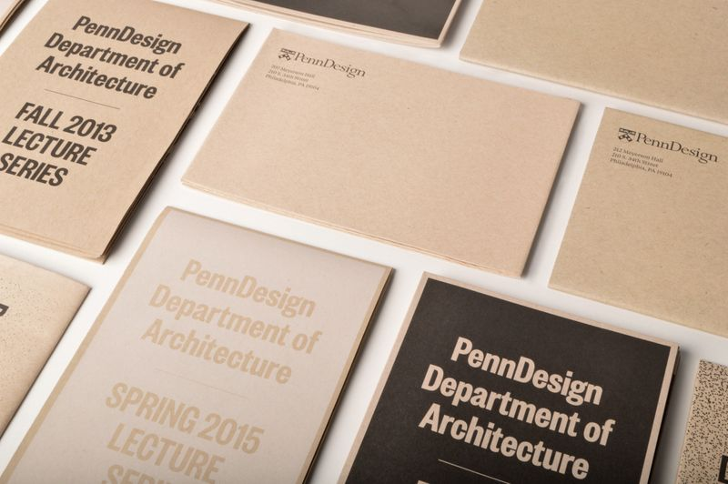 PENNDESIGN LECTURE POSTERS