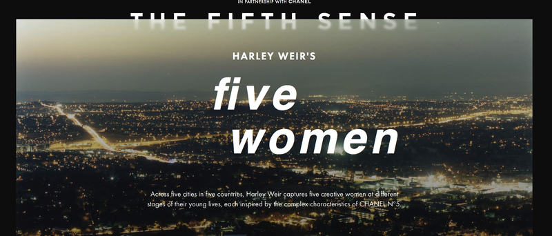 HARLEY WEIR'S five women