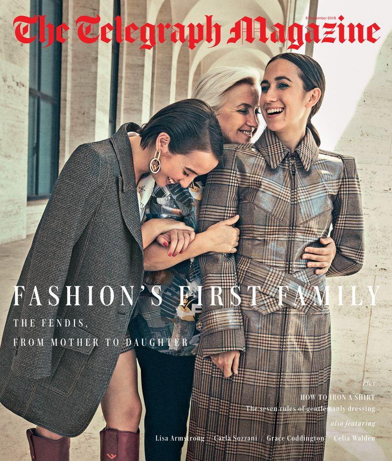 Fendi x Telegraph Magazine x Stefano Galuzzi