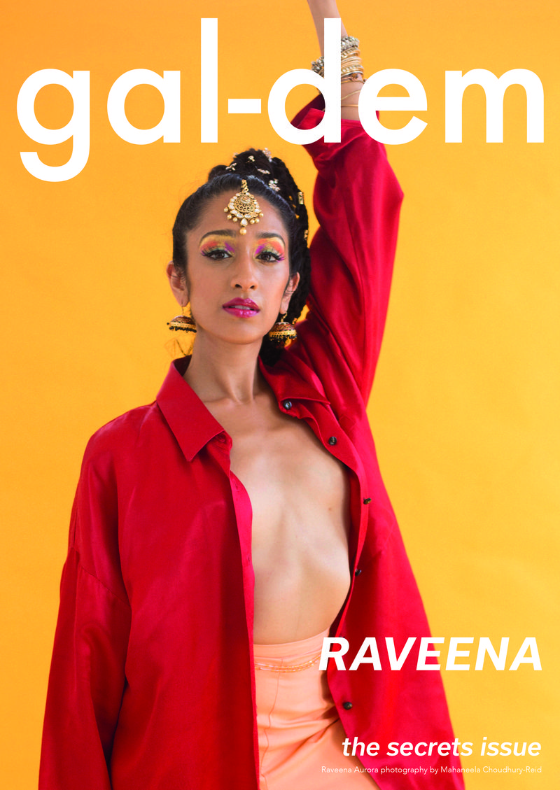 Gal Dem Magazine Cover Shoot with Raveena