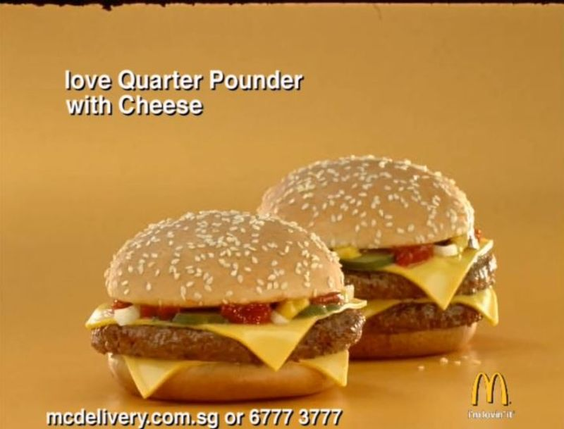 McDonald's 'Beef Rules, Cheese Rocks'