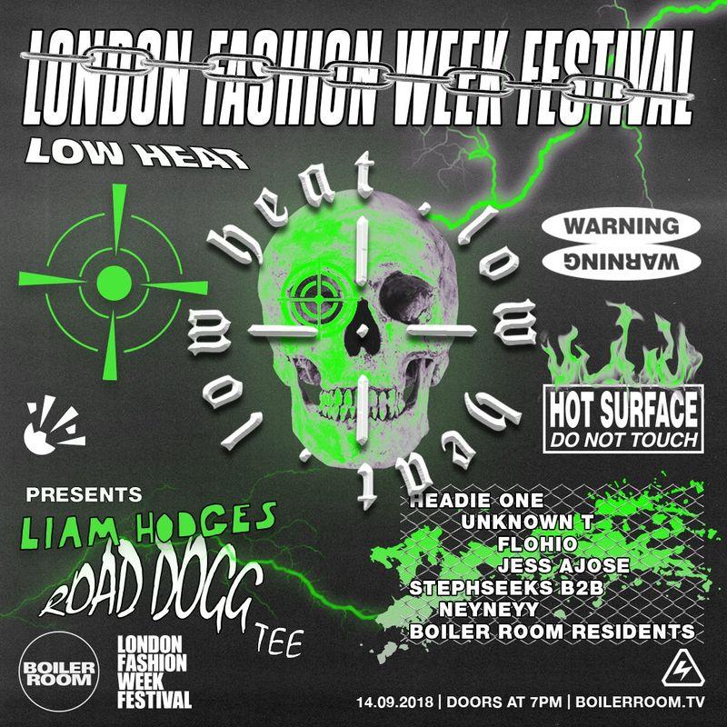 LOW HEAT London Fashion Week Afterparty