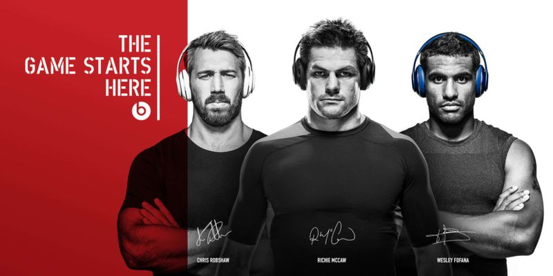 Beats By Dre - Rugby World Cup 2015