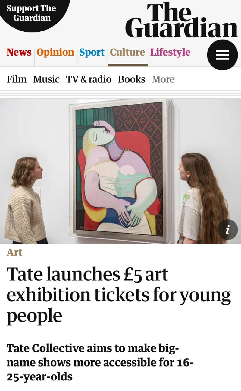 TATE, Young People's Programme - Communications Consultant