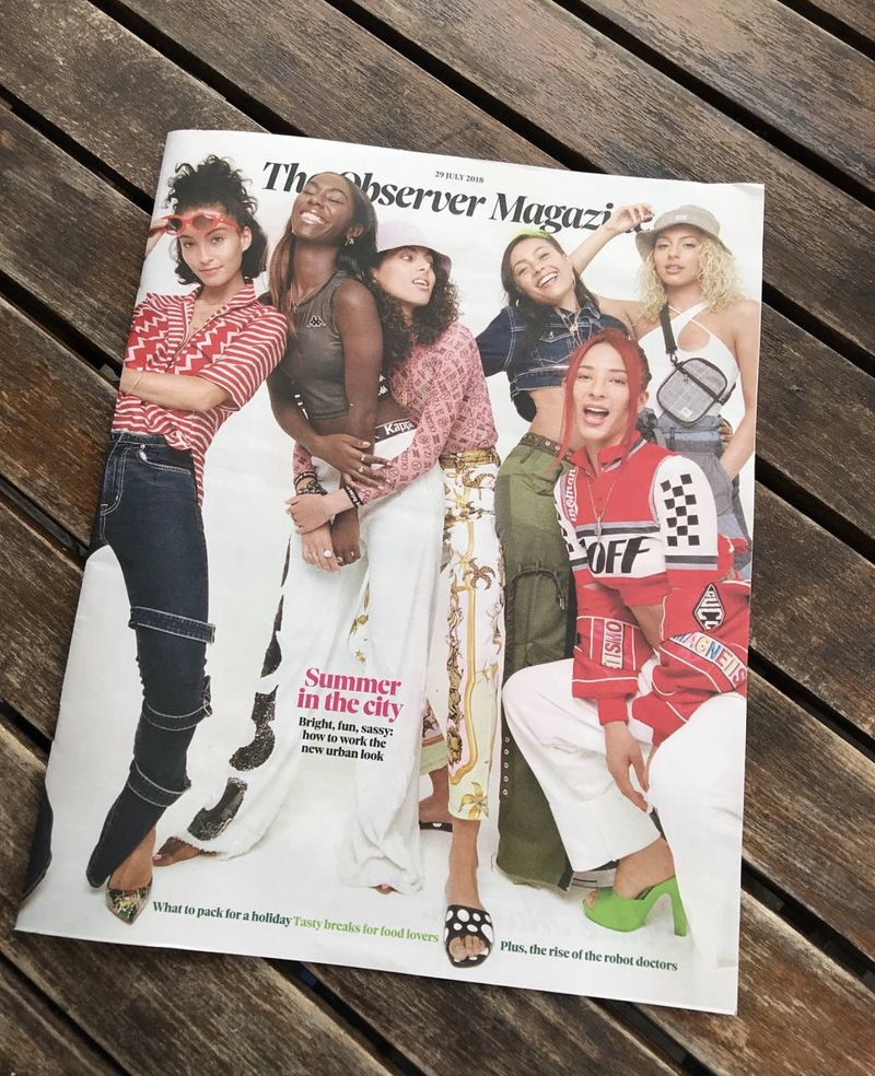 Observer Cover & Feature