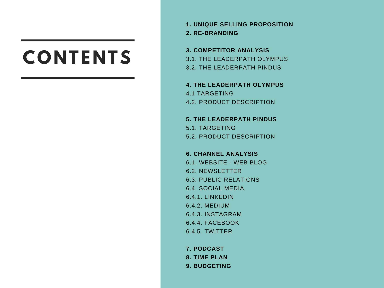 Integrated Marketing Presentation | The Dots
