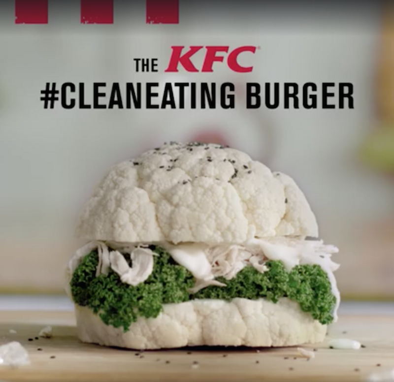 KFC - The KFC Clean Eating Burger