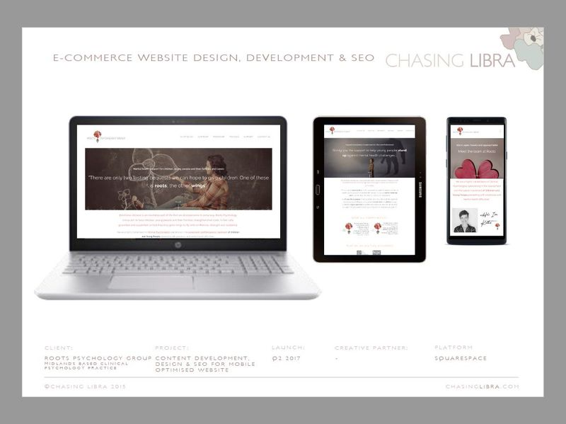 Website Development | Strategy, image & font sourcing, copywriting, build & SEO