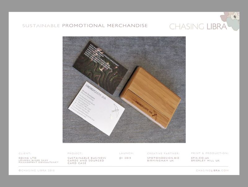 Sustainable Stationery & Merchandise | Strategy, design, product sourcing & 'green' print production