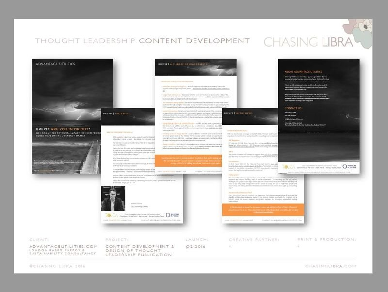 Thought Leadership & PR | White paper, technical copywriting, design, production & release