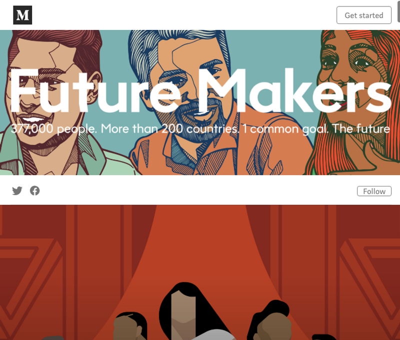 Future Makers - a new content platform for Siemens