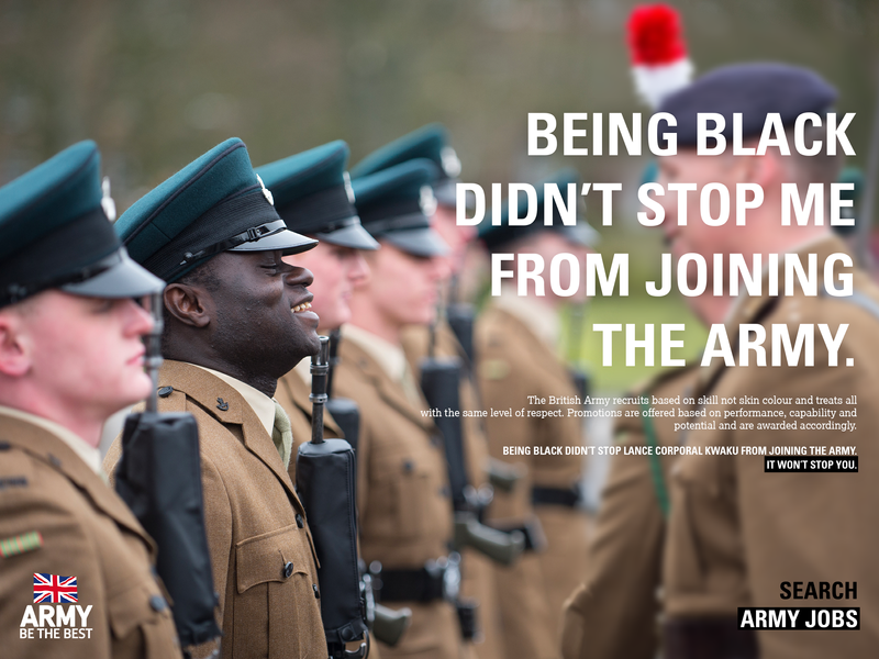 Being Black Didn't Stop Me From Joining The Army