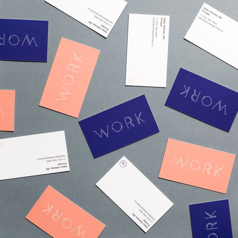 Work Design Studio Branding