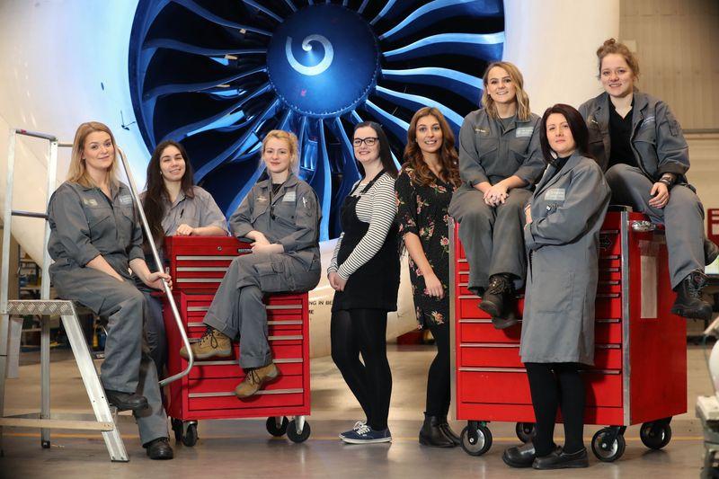 GE Aviation Wales: Women in STEM