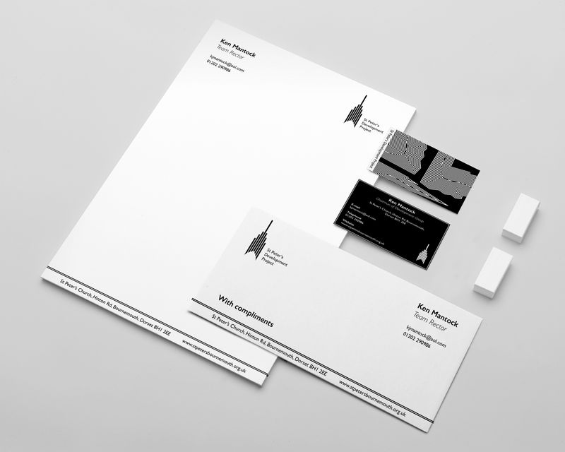 Brand Identity / St Peter's Church / Competition Winner