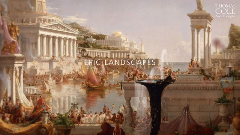 Thomas Cole: Eden to Empire - trailer for the National Gallery