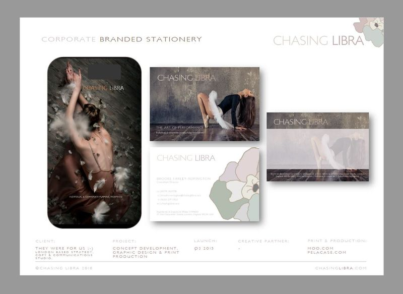 Corporate Stationery | Brand development, graphic design, ethical print & production
