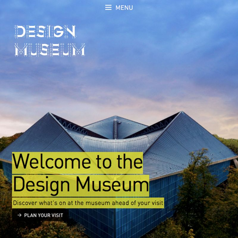 Re-branding Design Museum's Identity