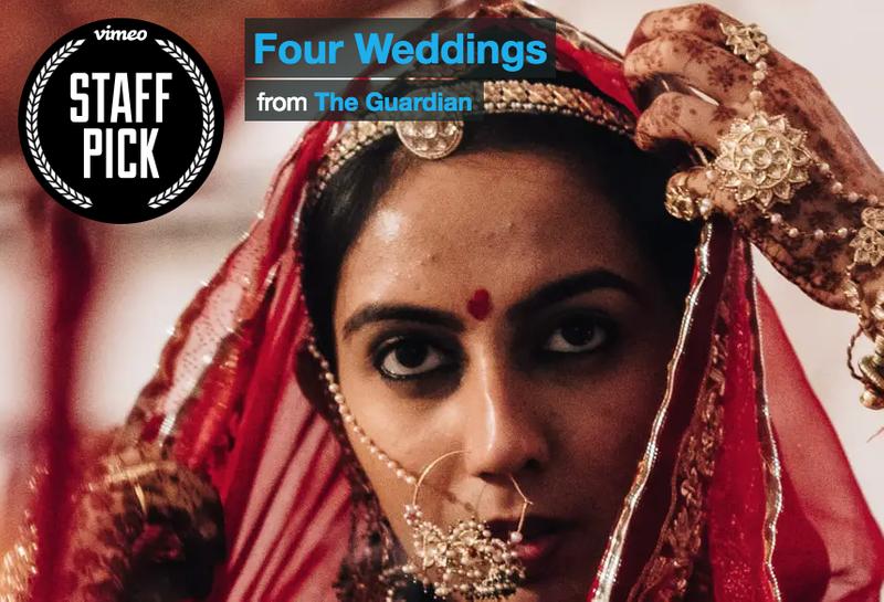 Nikon X The Guardian : Four Weddings