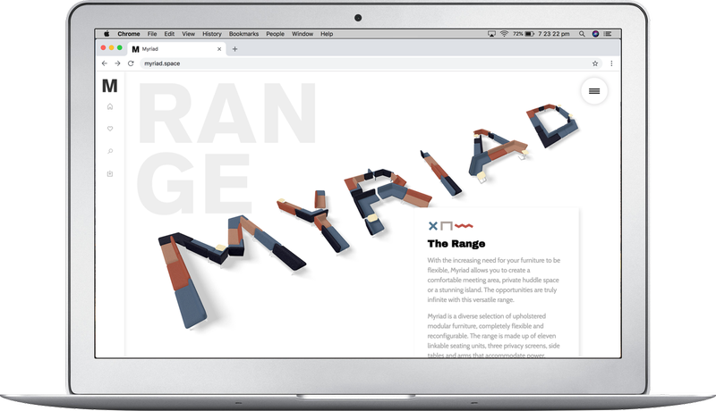 Boss Design. Launching the Myriad furniture range