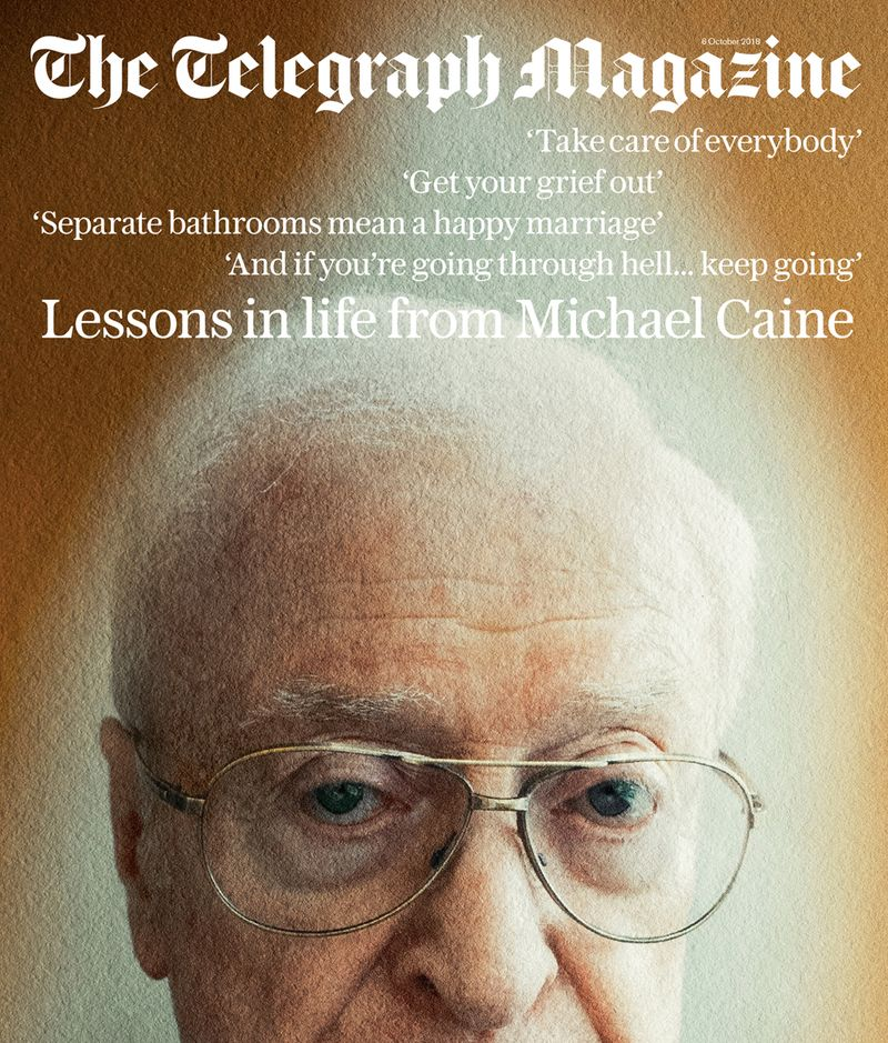 Telegraph Magazine x Sir Michael Caine x Jack Davison