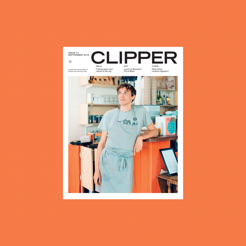 Clipper magazine—Innovative communities in Poplar and Canning Town