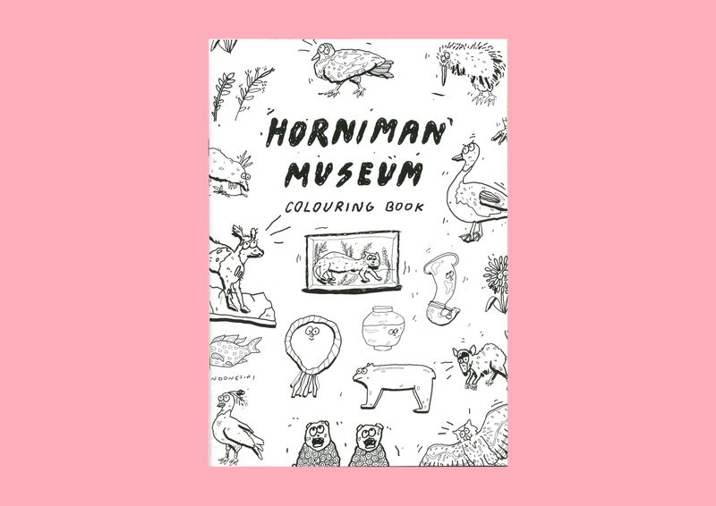 Horniman Museum Colouring Book
