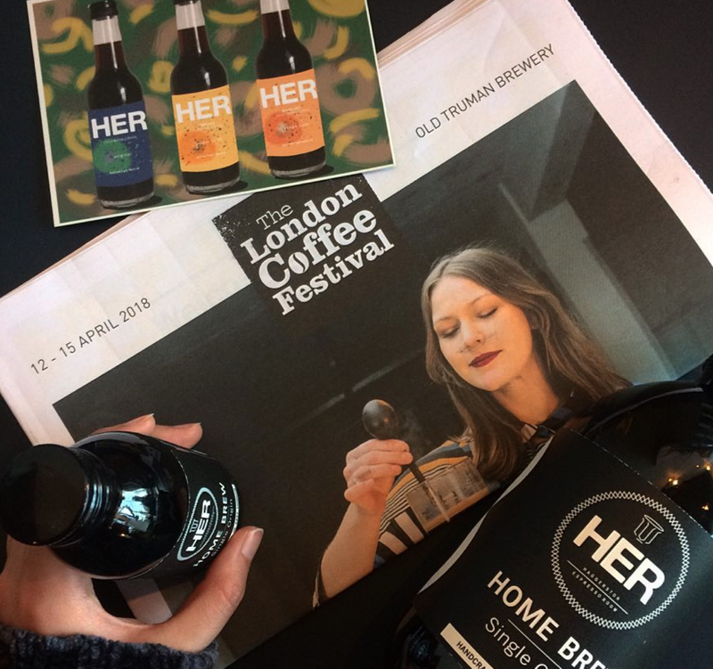 HER Coffee at London Coffee Festival 2018