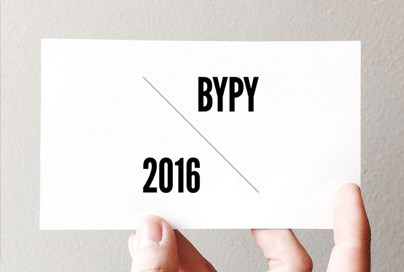 Birmingham Young Professional of the Year. Refreshing the brand for 2016