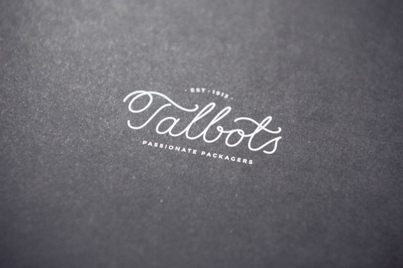 Talbots Group. A passionate rebrand for this packaging firm