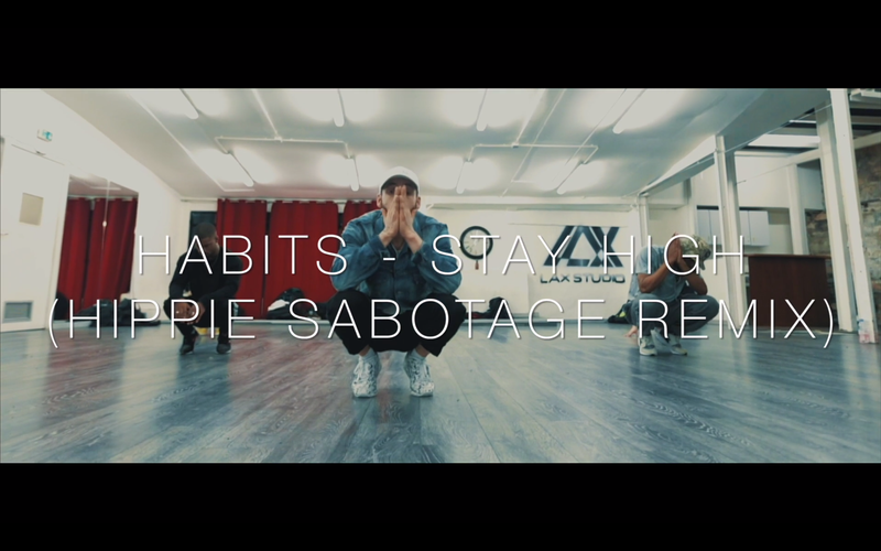 Stay High - Tove Lo - Choreo - Workshop at Lax Studio Paris