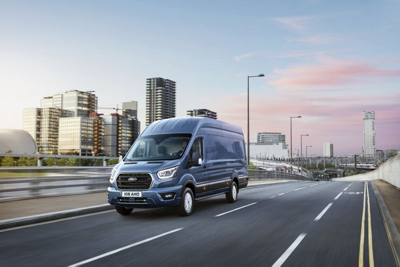 Ford Transit Automotive Retouching