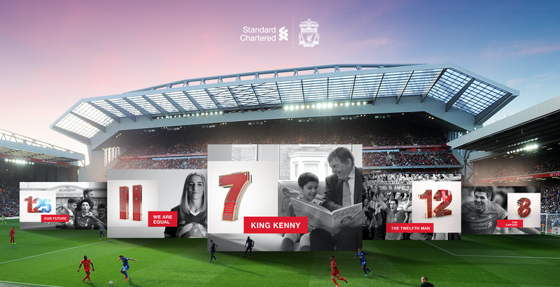 The Power of Numbers x Liverpool Football Club