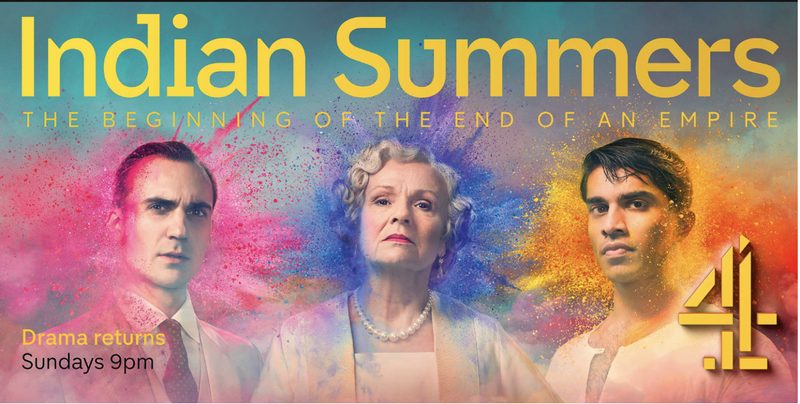 4Creative: Indian Summers Launch Poster