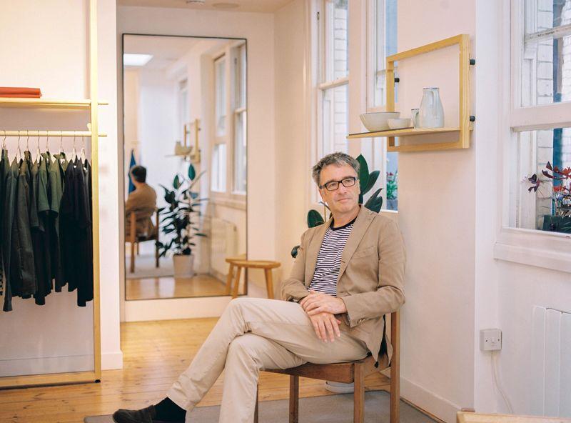 Nicholas Brooke CEO of Sunspel for Soho House