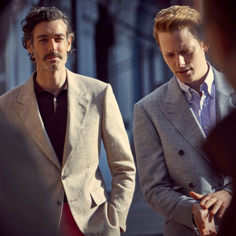 'Men About Town' for English Cut & The Cork magazine